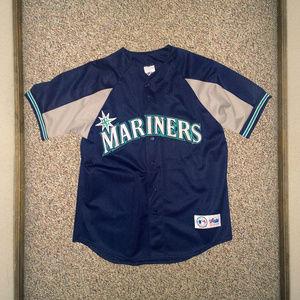 MAJESTIC Seattle Mariners Ken Griffey Jr. Jersey